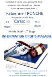 """Petit Déj Emploi Formation : """"Information droits maladie"""""""