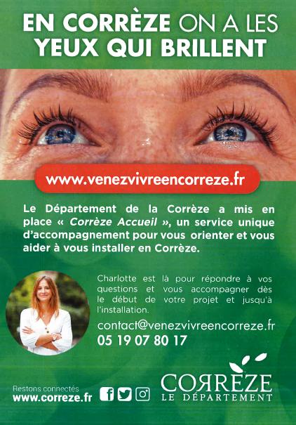 vivre en Corrèze