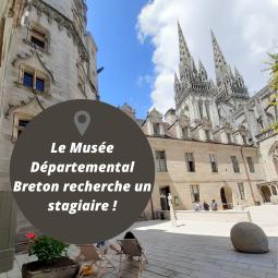 Le musée départemental breton recrute un stagiaire !