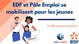 Le groupe EDF recrute 15 000 nouveaux salariés en 2021 !