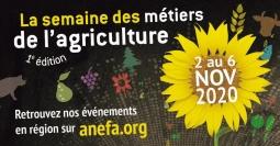 La semaine des métiers de l'agriculture avec l'ANEFA !