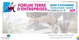 Finisterejob se révèle au forum terre d'entreprises !