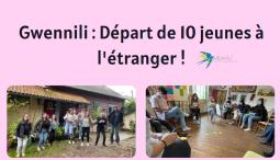 Départ de 10 jeunes en stages en Europe !