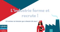 A Brest et Quimper, les métiers de l'industrie recrutent et forment !