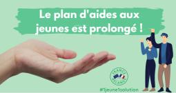 """Prolongation des aides du plan """"1 jeune, 1 solution"""""""