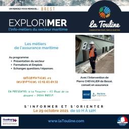 Info-métiers de La Touline : ExploriMer