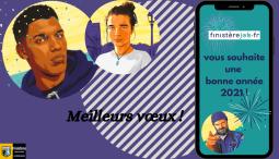 Finisterejob.fr vous souhaite une bonne année 2021 !