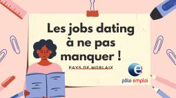 Pays de Morlaix - Les jobs dating à venir !