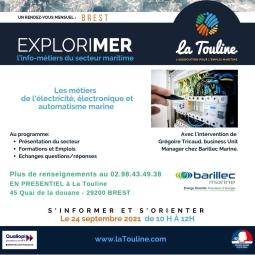 Explorimer : rencontre info métier