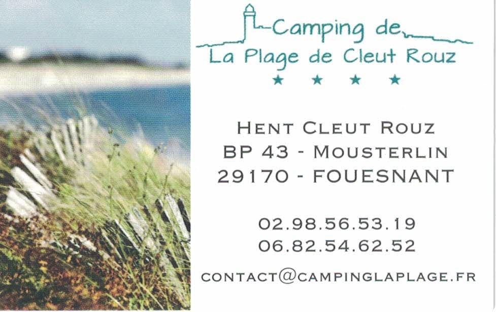 Logo Camping La Plage de Cleut Rouz