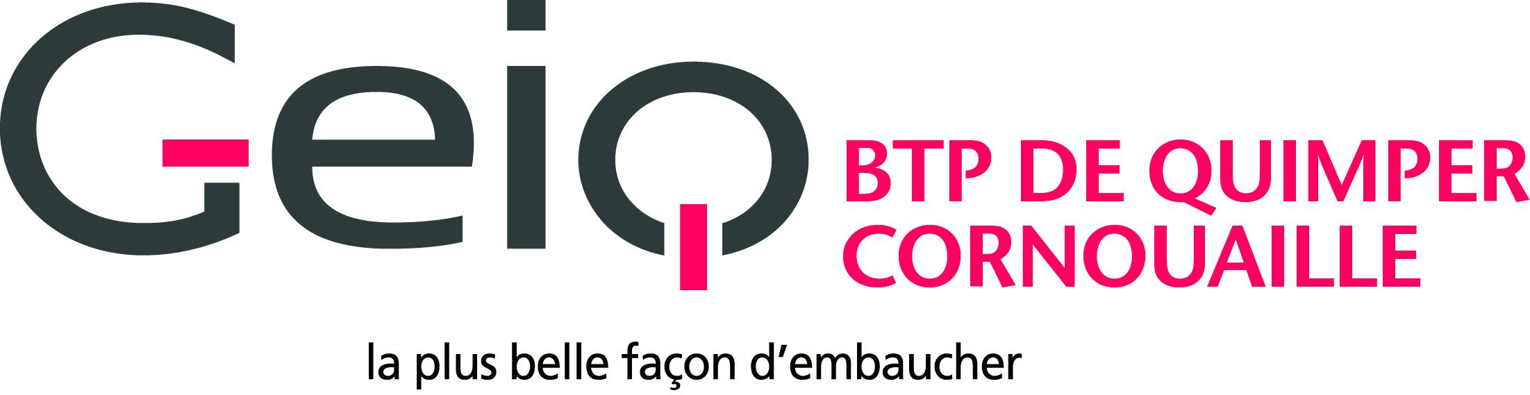 Logo GEIQ BTP Quimper Cornouaille