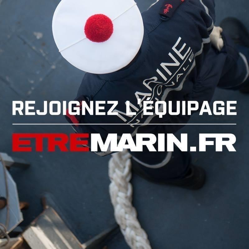 Logo MARINE NATIONALE - CIRFA MARINE BREST