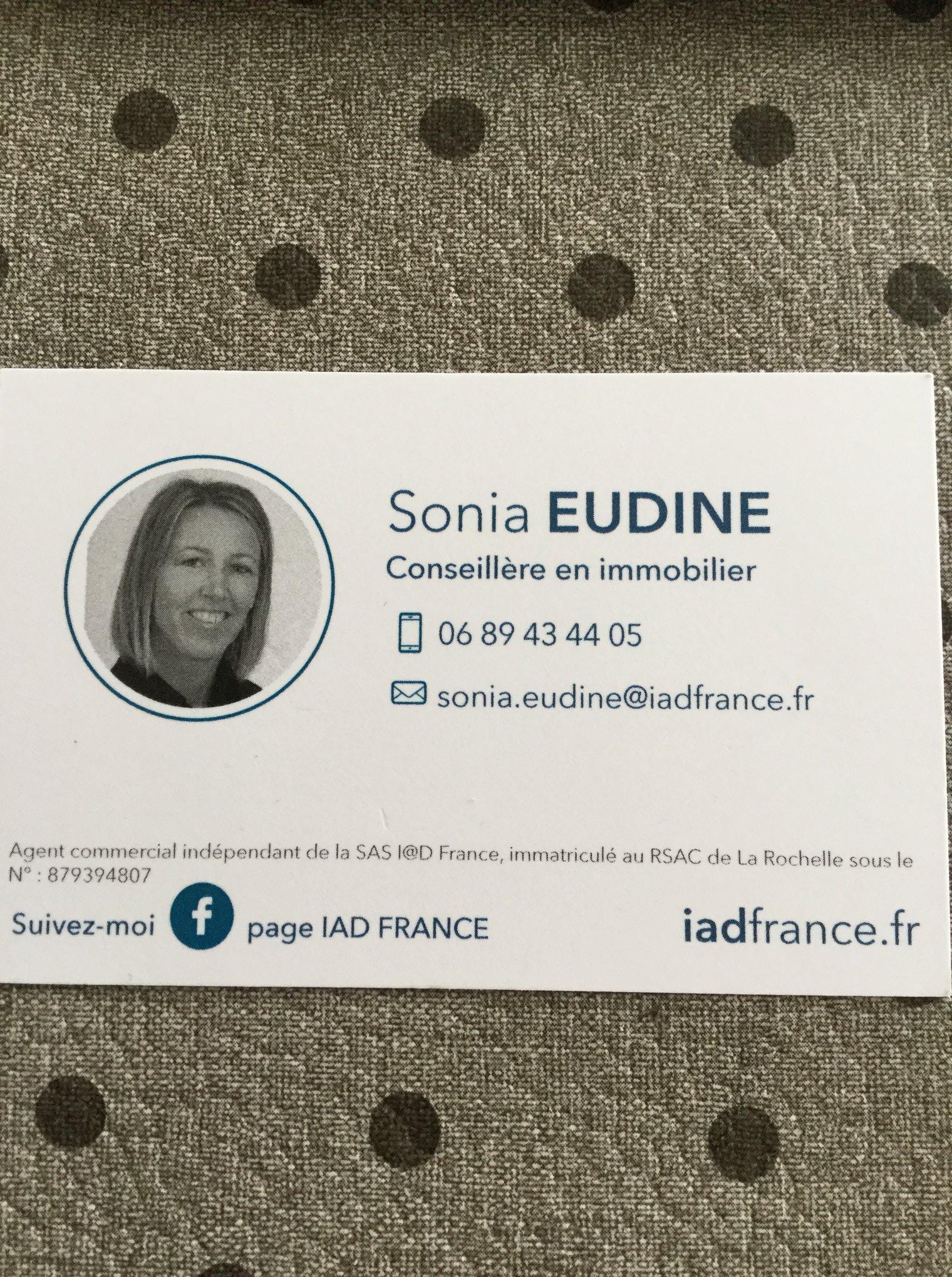 Logo Sonia Eudine IAD Immobilier