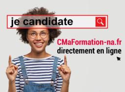 Candidatez directement en ligne à une formation, c'est très simple !