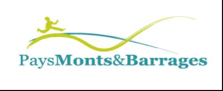 Logo PETR du Pays Monts et Barrages