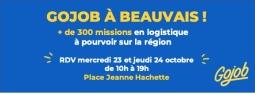 GOJOB débarque à Beauvais les 23 et 24 octobre !