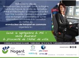 [Nogent-Sur-Oise] Bus Tour KEOLIS