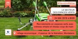 Pôle Emploi Montataire : Recrutements espaces verts