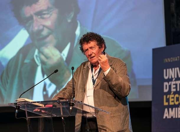 Le sociologue Jean Viard était à Amiens le 28 juin pour la première université d'été de l'économie amiénoise.
