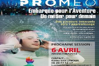 Prépa Apprentissage industrie  avec PROMEO
