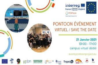 PONTOON EVENEMENT VIRTUEL/CAMPUS VIRTUEL/SAVE THE DATE