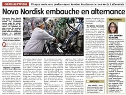 Novo Nordisk embauche en alternance !