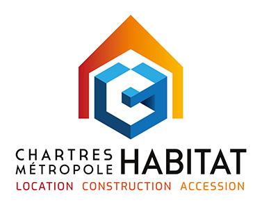 Logo Chartres Métropole Habitat