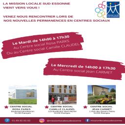 La Mission Locale Sud Essonne à la rencontre des jeunes