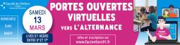 PORTES OUVERTES VIRTUELLES VERS L'ALTERNANCE, 2e ROUND !