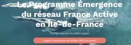 APPEL À CANDIDATURES FRANCE ACTIVE