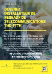 Titre professionnel INSTALLATEUR DE RESEAUX DE TELECOMMUNICATION THD-FTTH