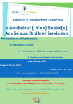 INITIA FORMATION : Réunion d'information collective (Groupe 1 : 9H00 /Groupe 2 : 11H00)