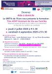 FORMATION ASSISTANT DE VIE AUX FAMILLES - GRETA DE L'EURE
