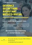 Titre professionnel SECRETAIRE ASSISTANT MEDICO-SOCIAL