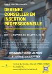 Titre professionnel CONSEILLER EN INSERTION PROFESSIONNELLE