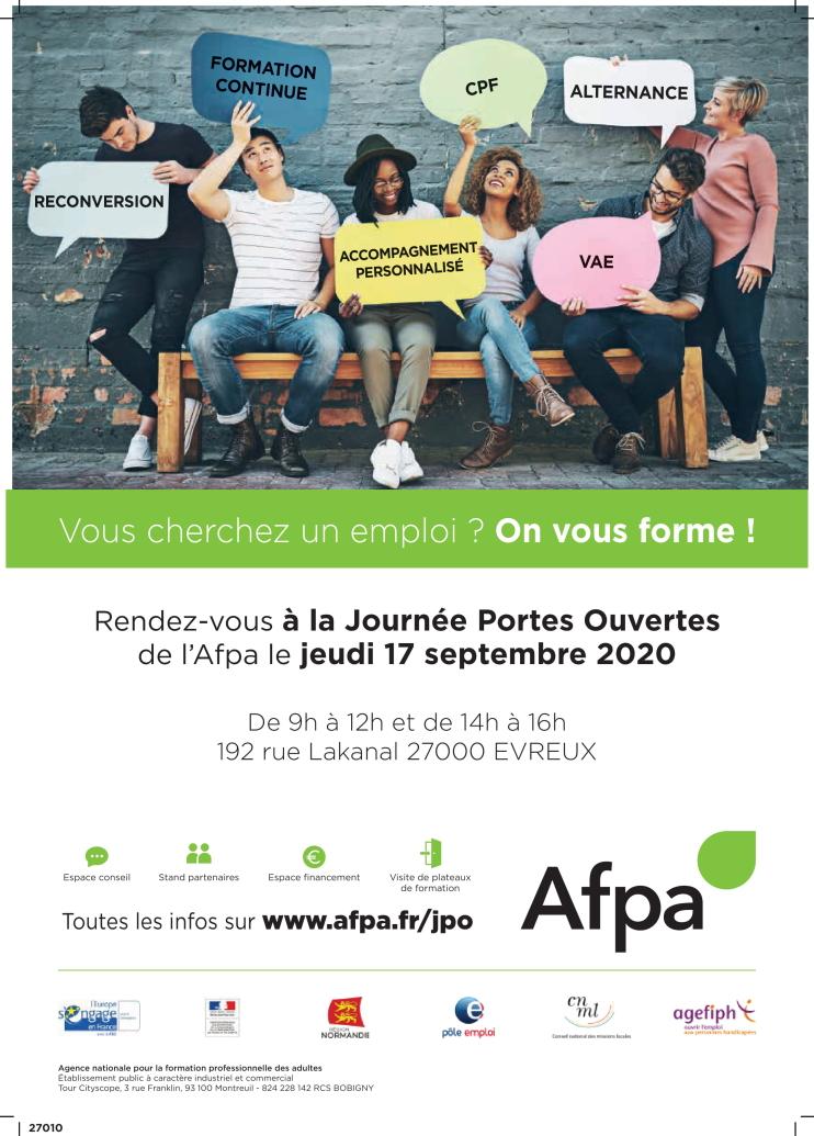 Journée portes ouvertes AFPA Evreux