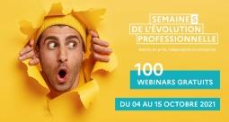 Semaines de l'évolution professionnelle du 4 au 15 octobre 2021