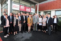 """Signature officielle de la charte """"Entreprises & Quartiers"""" le 29 Mai 2018"""