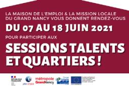 Les sessions Talents & Quartiers