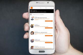 « En direct » : la plate-forme d'échange entre candidats et collaborateurs en poste chez Orange