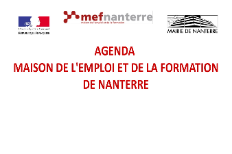 Agenda MEF Nanterre