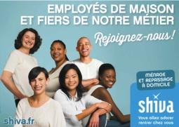 SHIVA recrute des assistant-es ménager-ère et repassage