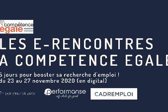 « Les e-rencontres A Compétence Egale – 5 jours pour booster sa recherche d'emploi »