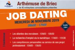 Jobdating. Plus de 40 entreprises présentes à Briec le 6 novembre!