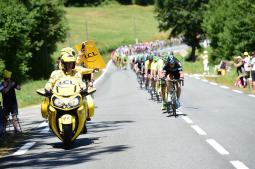 Quimper accueille le Tour de France