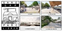 Découvrez Gare-Parc le nouveau pôle d'échange multimodal