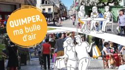 Quimper, ma bulle d'air : une campagne d'attractivité du territoire