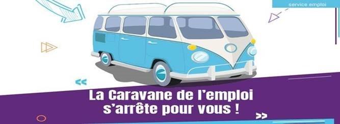 La Caravane de L'Emploi s'arrête à Roanne pour un Job dating réservé aux 18-25 ans le Vendredi 28 mai de 9h à 16h.