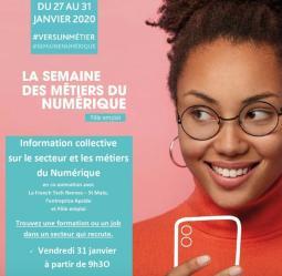 """Atelier """"Métiers du numérique"""""""