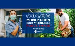 Pôle Emploi crée la plateforme Mobilisation Emploi pour faire face à la crise du COVID 19